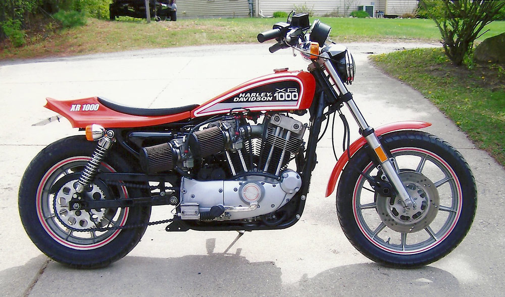 Art Couture\'s XR1000 Street Tracker - Phil Little Racing ~ Vintage ...