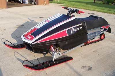kline polaris rxl front quarter th