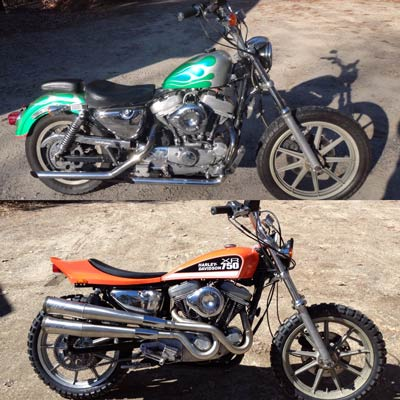 endres sxr harley sportster before after 1 th