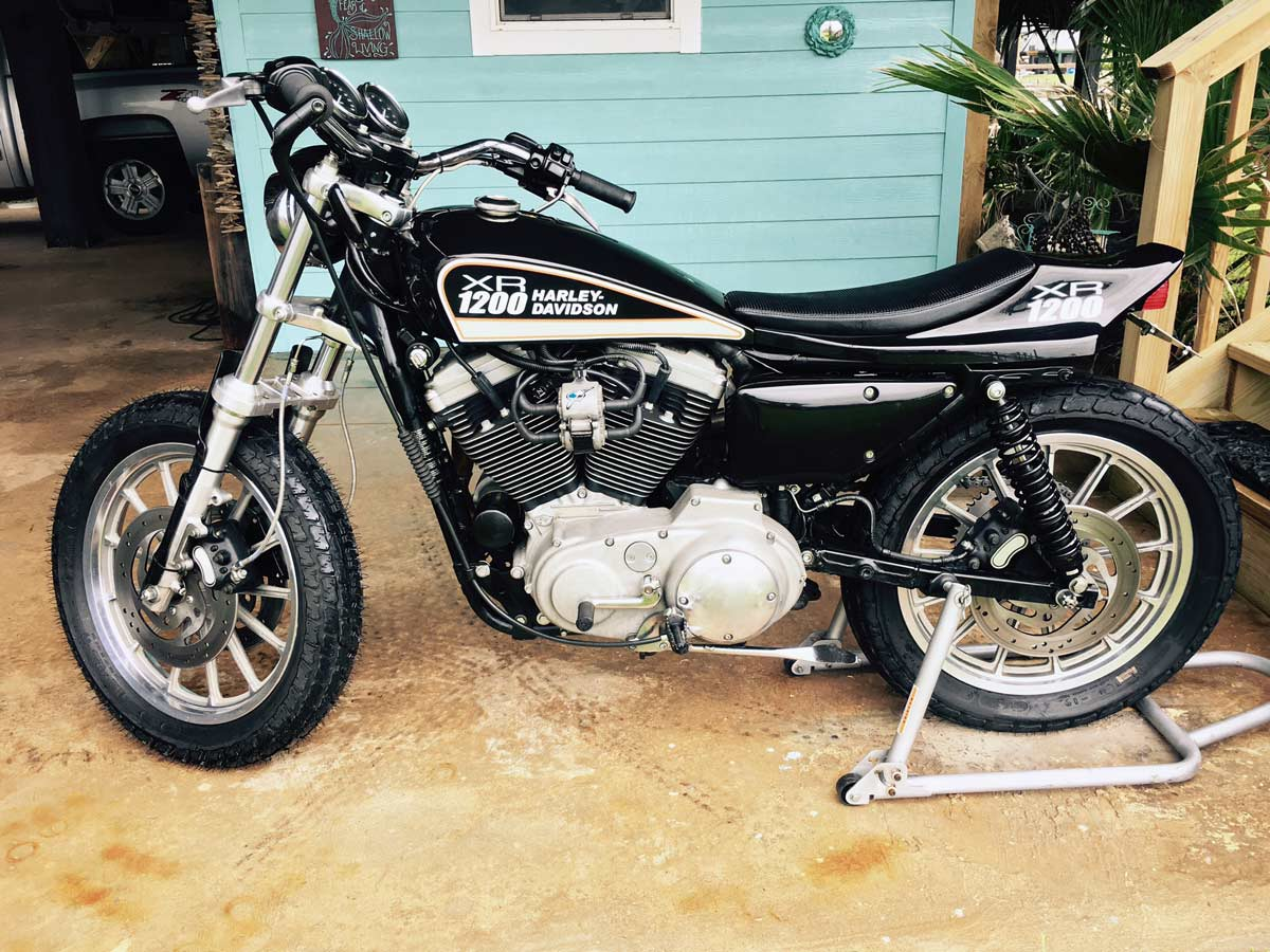 SXR Street Tracker - Phil Little Racing ~ Vintage Racing