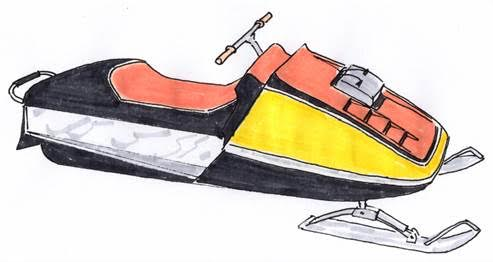 1973 skidoo blizzard sketch 1