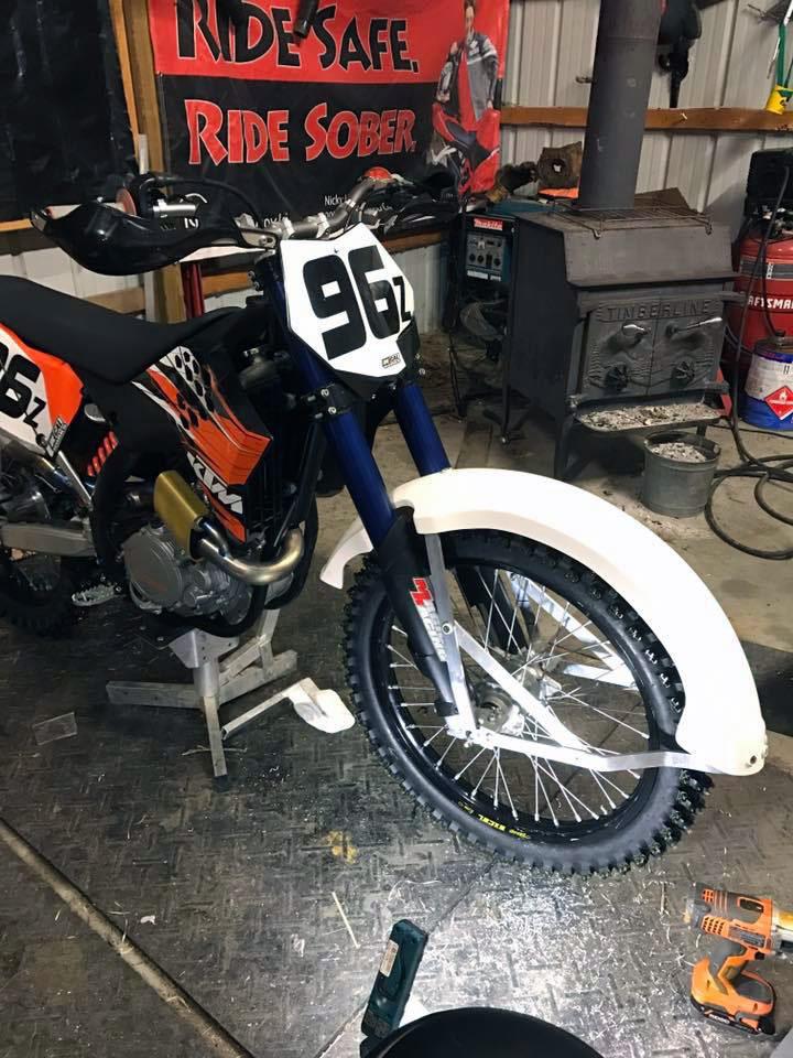Ice Fenders Phil Little Racing Vintage Racing Motorcycle And