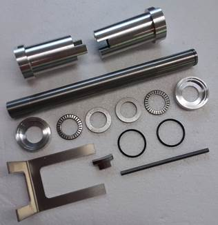 quickturn 27 degree steering kit parts 1